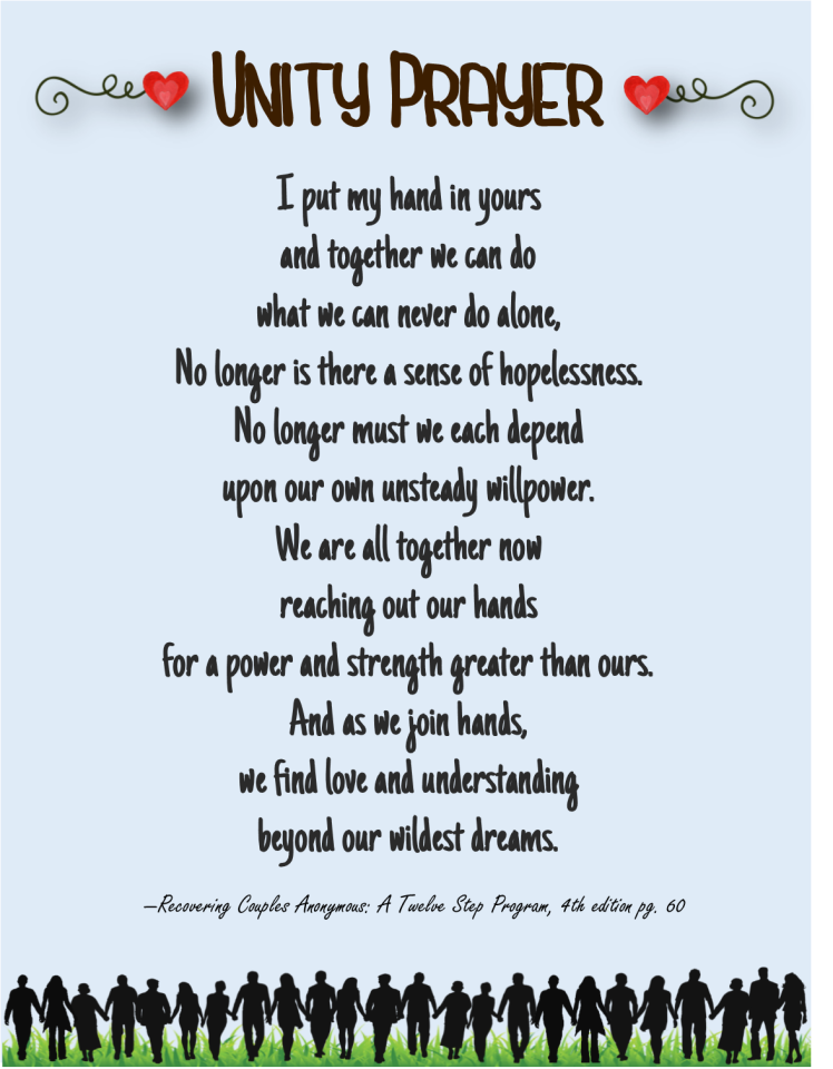 Unity Prayer for Couples